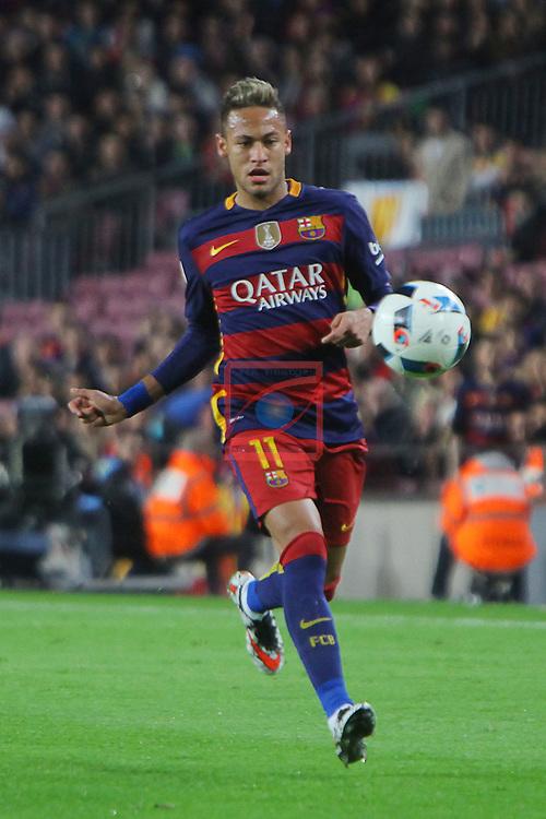 Copa del Rey 2015/2016 - 1/2 Final - Ida.<br /> FC Barcelona vs Valencia CF: 7-0.<br /> Neymar Jr.