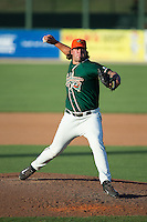 Greensboro Grasshoppers relief pitcher Ryan Hafner (31) in action against the Kannapolis Intimidators at CMC-Northeast Stadium on August 2, 2015 in Kannapolis, North Carolina.  The Intimidators defeated the Grasshoppers 4-2.  (Brian Westerholt/Four Seam Images)
