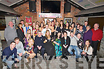 BIRTHDAY; Ailín Crowe, Ballybunion who celebrated her 21st birthday in the Americian Bar (Mikey Joe's), Ballybunion on Saturday night with family and friends (Ailín is seated 5th from right)....