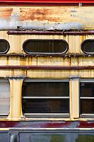 Glen Echo Park Maryland  Trolley Car.Washington DC Architectural Photography.Architectural Details