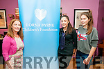 Children; Foundation : Attending the special fundraising event in aid of the Lorna Byrne Children's Foundation in Kilcooley's Country House, Ballybunion on Sunday last were Lorna Byrne, Orla Holly & Briannagh O'Connor.