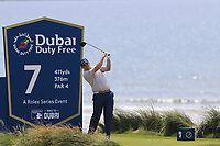 Richie Ramsay (SCO) tees off the 7th tee during Thursday's Round 1 of the Dubai Duty Free Irish Open 2019, held at Lahinch Golf Club, Lahinch, Ireland. 4th July 2019.<br /> Picture: Eoin Clarke | Golffile<br /> <br /> <br /> All photos usage must carry mandatory copyright credit (© Golffile | Eoin Clarke)
