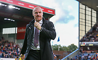 Burnley manager Sean Dyche<br /> <br /> Photographer Alex Dodd/CameraSport<br /> <br /> UEFA Europa League - Third Qualifying Round 2nd Leg - Burnley v Istanbul Basaksehir - Thursday 16th August 2018 - Turf Moor - Burnley<br />  <br /> World Copyright © 2018 CameraSport. All rights reserved. 43 Linden Ave. Countesthorpe. Leicester. England. LE8 5PG - Tel: +44 (0) 116 277 4147 - admin@camerasport.com - www.camerasport.com