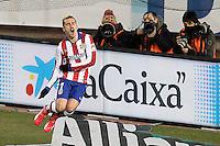 Atletico de Madrid's Antoine Griezmann celebrates during La Liga match.January 24,2015. (ALTERPHOTOS/Acero) /NortePhoto<br /> NortePhoto.com