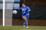 30 November 2013: UCLA's Caprice Dydasco. The University of North Carolina Tar Heels played the University of California Los Angeles Bruins at Fetzer Field in Chapel Hill, North Carolina in a 2013 NCAA Division I Women's Soccer Tournament Quarterfinal match. UCLA won the game 1-0 in two overtimes.
