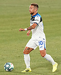 Atalanta BC's Alejandro Gomez during friendly match. August 10,2019. (ALTERPHOTOS/Acero)