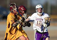 Boys Lacrosse vs Brebeuf 3-17-10