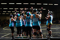 Roller Derby at San Francisco's Palace of Fine Arts