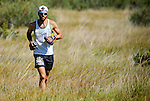 August 20, 2016 - Leadville, Colorado, U.S. -  Ultra distance runner, Ryan Guldan #360, prior to ascending to Hope Pass during the Blueprint for Athletes Leadville Trail 100, Leadville, Colorado.  Considered one of the most challenging endurance races in the world, ultra distance runners will navigate high altitude trails, challenging river crossings, and a variety of changing weather with an elevation gain of more than 18,000 feet ranging from 9200 feet near Twin Lakes to 12,600 feet atop the high point of Hope Pass.
