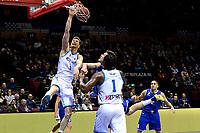 GRONINGEN - Basketbal, Donar - Den Helder, Dutch Basketbal League, seizoen 2019-2020, 09-02-2020,  fraaie score Donar speler Thomas Koenis
