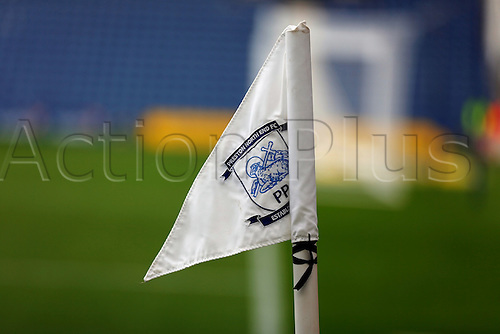 09.08.2015. Preston, England. Skybet Championship. Preston versus Middlesbrough. Corner Flag