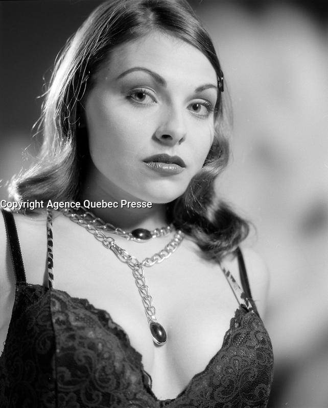 Annie Dufresne<br />  en Alys Roby<br /> <br /> <br /> PHOTO :   Agence Quebec Presse