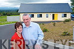 John and Mairead O'Sullivan in Scart Farranfore in front of their home which they say is the most energy efficent in Kerry.