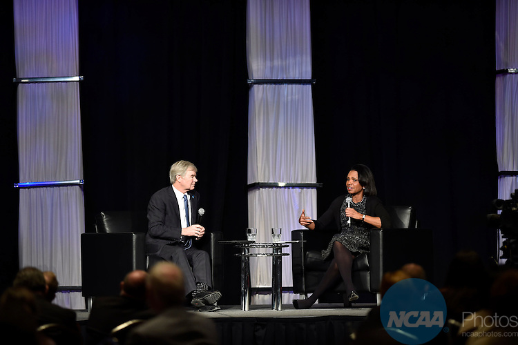 14 JAN 2016: The NCAA Keynote Luncheon during the 2016 NCAA Convention takes place at the Marriott Rivercenter in San Antonio, TX. Justin Tafoya/NCAA Photos