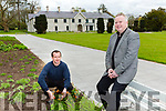 Pat Dawson and Michael Doyle the new gardener at Killarney House
