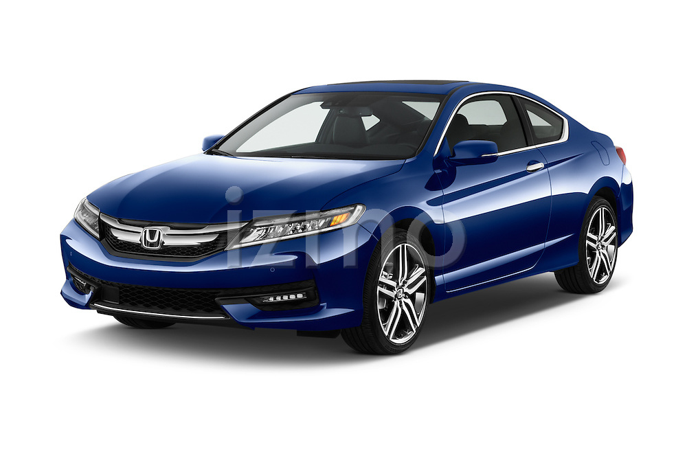 2016 Honda Accord Touring 2 Door Coupe Angular Front stock photos of front three quarter view