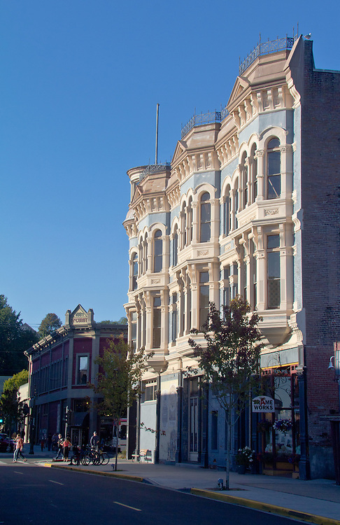 Port Townsend, Hastings Building, 1889, Victorian architecture, Olympic Peninsula, Washington State, Pacific Northwest, Port Townsend Historic District,