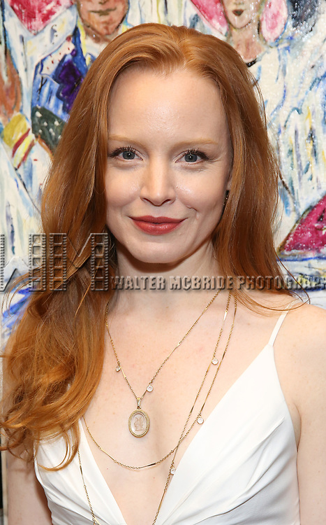 Lauren Ambrose attends the 2018 Outer Critics Circle Theatre Awards at Sardi's on May 24, 2018 in New York City.