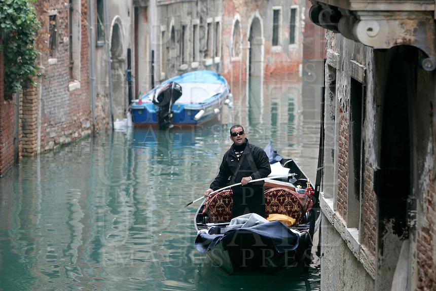 Un canale del sestiere di Castello.<br /> A canal at the sestiere of Castello, Venice.<br /> UPDATE IMAGES PRESS/Riccardo De Luca