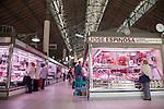Interior of Alicante Market - Mercado Central, Spain