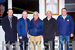 Frank Coffey, Colm Kelly both Glenbeigh, Joe Connor Listowel,Billy mullvihill Moyvane and Tom O'Sullivan Clounmachon , Bat the Kerry GAA County Board Convention in the INEC on Monday night
