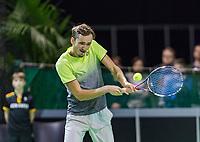 Rotterdam, Netherlands, 11 februari, 2018, Ahoy, Tennis, ABNAMROWTT, Qualifying final, Daniil MEDVEDEV (RUS)<br /> Photo: Henk Koster/tennisimages.com