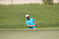 Lucas Bjerregaard (DEN) on the 14th green during the final round of the DP World Tour Championship, Jumeirah Golf Estates, Dubai, United Arab Emirates. 18/11/2018<br /> Picture: Golffile | Fran Caffrey<br /> <br /> <br /> All photo usage must carry mandatory copyright credit (© Golffile | Fran Caffrey)