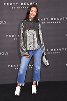 Maya Jama<br /> arriving for the Fenty Beauty by Rihanna launch party at Harvey Nichols, London<br /> <br /> <br /> &copy;Ash Knotek  D3310  19/09/2017