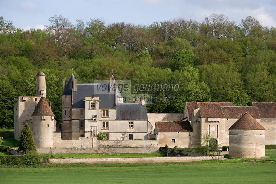 Europe/France/Bourgogne/89/Yonne/ Lichères:  Château de Faulin