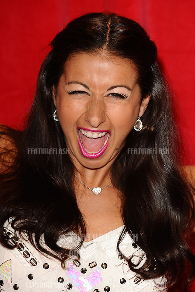 Hayley Tamaddon arriving for the 2014 British Soap Awards, at the Hackney Empire, London. 24/05/2014 Picture by: Steve Vas / Featureflash