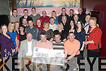 6430-6434.CHARITY: Friends of Gally's bar/restaurant, Castlemaine Rd., Tralee who got together last Friday night to have a toast on their recent successful collection in Tralee, Listowel and Killarney for Our Lady's children's hospital, Crumlin in which a total sum of EUR38,000 was raised.