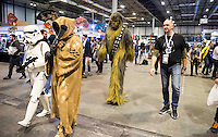 Chewbacca at Expocomic 2016 in Madrid, Spain. December 03, 2016. (ALTERPHOTOS/BorjaB.Hojas) /NORTEPHOTO.COM