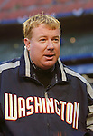 3 April 2006: Jim Bowden, General Manager of the Washington Nationals, talks to the media prior to the Opening Day game against the New York Mets at Shea Stadium, in Flushing, New York. The Mets defeated the Nationals 3-2 to lead off the 2006 MLB season...Mandatory Photo Credit: Ed Wolfstein Photo..