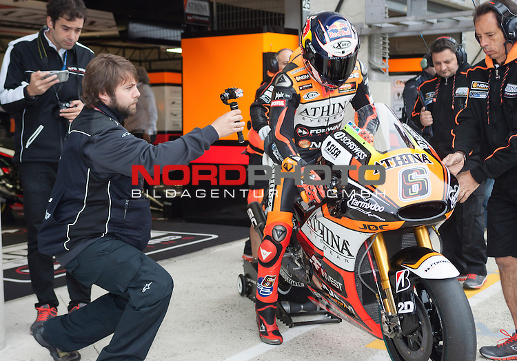 Monster Energy Grand Prix de France in Le Mans 15.-17.05.2015, Free Practice, Qualifying, Box.<br /> <br /> 6 Stefan Bradl / Deutschland<br /> <br /> Foto &copy; nordphoto / FSA