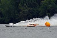 "John Krebs, NM-233 ""Just Crazy"" National Mod class hydroplane & Elizabeth Wolfe, NM-93 ""Desparado"", National Mod class hydroplane.Syracuse Hydrofest, Onondaga Lake, Syracuse, NY.20/21 June, 2009, Dayton, OH USA..©F. Peirce Williams 2009 USA.F.Peirce Williams.photography.ref: RAW (.NEF) File Available"