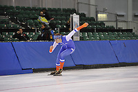 SPEED SKATING: SALT LAKE CITY: 18-11-2015, Utah Olympic Oval, ISU World Cup, training, Margot Boer (NED), ©foto Martin de Jong