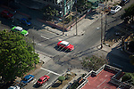 HAVANA, CUBA -- MARCH 23, 2015:  A street scene the Vedado neighborhood of Havana, Cuba on March 23, 2015. Photograph by Michael Nagle