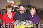 GRUBS UP: Members of the Castleisland St Vincent de Paul Society who are seeking more volunteers for their meals on wheels service, l-r: Helen O'Donoghue, Maurice Roche, Breda Geaney.
