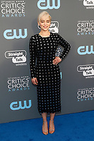 Emilia Clarke attends the 23rd Annual Critics' Choice Awards at Barker Hangar in Santa Monica, Los Angeles, USA, on 11 January 2018. - NO WIRE SERVICE - Photo: Hubert Boesl/dpa /MediaPunch ***FOR USA ONLY***