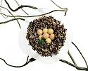 Wild Rice Birdnest Salad. Portfolio only