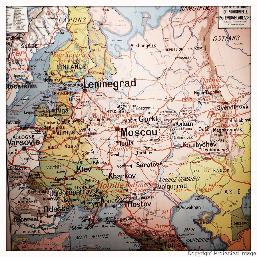 URSS map