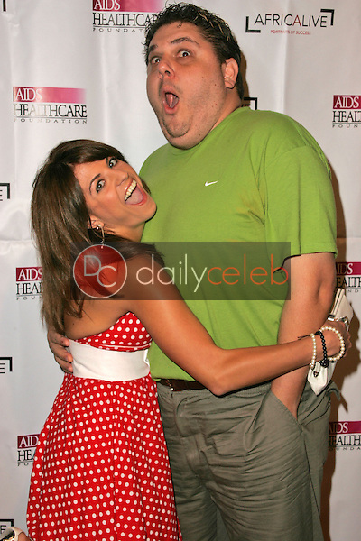 """Bridgetta Tomarchio and friend<br />at The AIDS Healthcare Foundation's """"Hot In Hollywood"""" Party. Music Box Theatre, Hollywood, CA. 08-12-06<br />Dave Edwards/DailyCeleb.com 818-249-4998"""