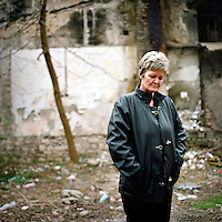 Bakira Plesic, a Bosnian housewife who herself endured rape during the 1992 to 1995 war, has compiled a database of testimonies from 25,000 rape victims. ©Robin Hammond/PANOS/Felix Features