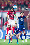 Guangzhou Midfielder Zheng Zhi (L) in action during the AFC Champions League 2017 Group G match between Guangzhou Evergrande FC (CHN) vs Suwon Samsung Bluewings (KOR) at the Tianhe Stadium on 09 May 2017 in Guangzhou, China. Photo by Yu Chun Christopher Wong / Power Sport Images
