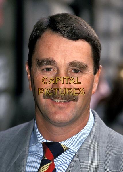 NIGEL MANSELL.Ref: 1598 .racing driver, moustache, headshot, portrait.www.capitalpictures.com.sales@capitalpictures.com.© Capital Pictures