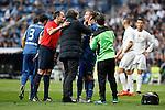 Getafe´s Alexis gets injured during La Liga match at Santiago Bernabeu stadium in Madrid, Spain. December 05, 2015. (ALTERPHOTOS/Victor Blanco)