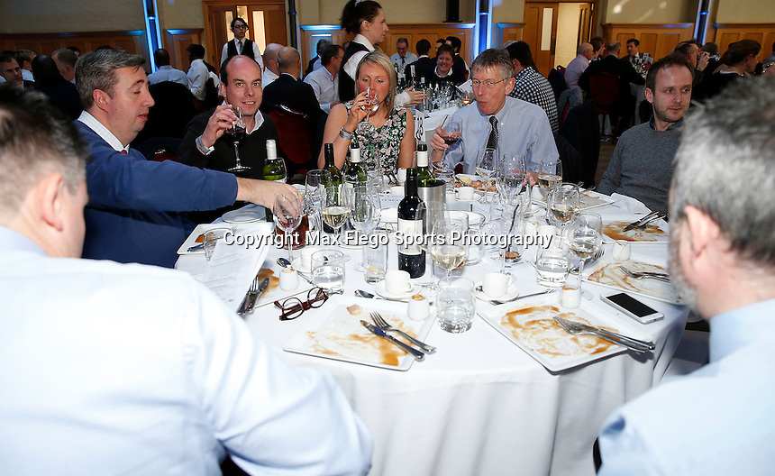 Hospitality pic during the 2016 Pcubed Rugby League Varsity game between Oxford University and Cambridge University at the HAC ground, London, on Fri March 4, 2016