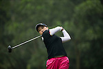 Han Sol Ji of South Korea tees off at the 14th hole during Round 3 of the World Ladies Championship 2016 on 12 March 2016 at Mission Hills Olazabal Golf Course in Dongguan, China. Photo by Victor Fraile / Power Sport Images