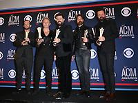 07 April 2019 - Las Vegas, NV - Old Dominion. 54th Annual ACM Awards Press Room at MGM Grand Garden Arena. Photo Credit: MJT/AdMedia
