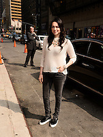 NEW YORK, NY - JUNE 10, 2014:Actress Laura Prepon visits the Late Show With David Letterman on June 10, 2014 © HP/Starlitepics